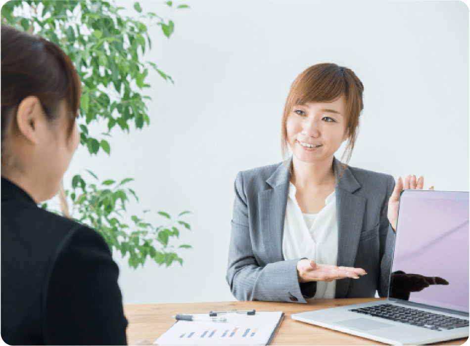 専任のキャリアアドバイザーがあなたの就職・転職をサポート